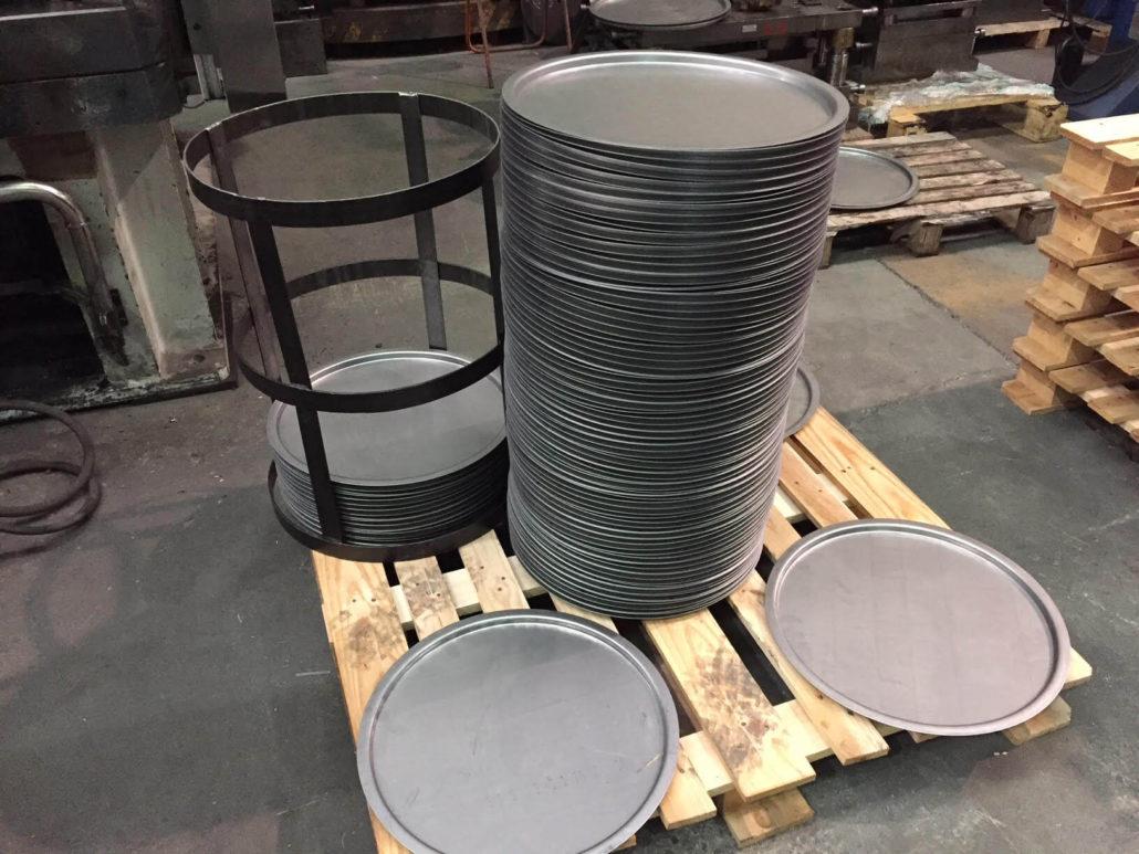 Fabricacion de fondos para bidones metalicos talleres ardanza